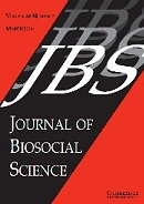 Journal of Biosocial Science